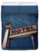 Bird House Motel #2 Duvet Cover