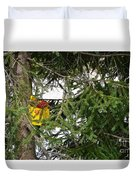 Bird House Duvet Cover