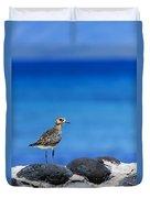 Bird In Blue Duvet Cover