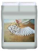 Bird Migration 2 Duvet Cover
