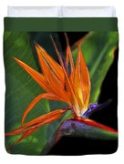 Bird Of Paradise Digital Art Duvet Cover