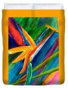 Bird Of Paradise Flower #66 Duvet Cover