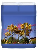 Bird Of Paradise Shrub Duvet Cover