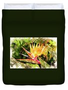 Bird Of Paradise Wc Duvet Cover