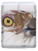 Bird Of Prey  Osprey Duvet Cover
