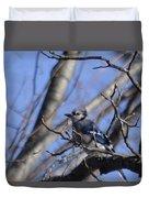 Bird On A Limb Duvet Cover