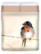 Bird On Wire Duvet Cover