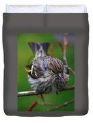 Bird Perch Duvet Cover