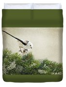Birdie Stilllife Duvet Cover