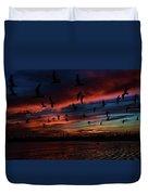 Birds Above Duvet Cover