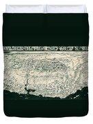Birds-eye View Of California Duvet Cover