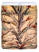 Birds In A Tree Duvet Cover