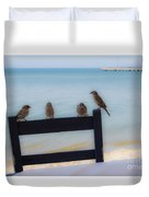 Birds On A Chair Duvet Cover