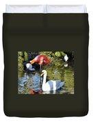 Birds Together Duvet Cover