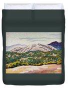 Birdseye Landscape #4 Duvet Cover