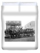 Birk Brothers Brewing Company C. 1895 Duvet Cover
