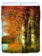 Birken Am Moorgraben 1896 Duvet Cover