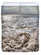 Birling Gap Waves Duvet Cover