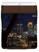 Birmingham Skies Duvet Cover