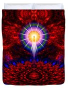 Birth Of The Presence Duvet Cover
