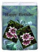 Birthday Card Duvet Cover