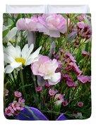 Birthday Flowers Duvet Cover