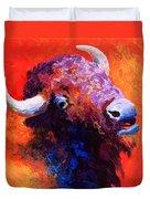 Bison Attitude Duvet Cover