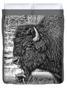 Bison Duvet Cover