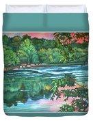 Bisset Park Rapids Duvet Cover
