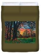 Bisset Park Sunrise Duvet Cover