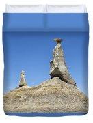 Bisti Badlands 11 Duvet Cover