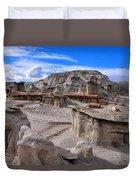 Bisti Badlands 8 Duvet Cover