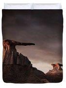 Bisti Badlands, New Mexico, Usa Duvet Cover