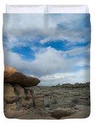 Bisti Fissure New Mexico Duvet Cover