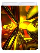 Bittersweet Abstract Duvet Cover by Alexander Butler