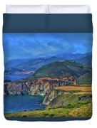 Bixby Bridge 1 Duvet Cover