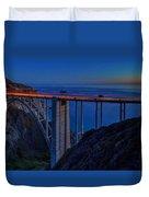 Bixby Bridge  Duvet Cover