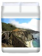 Bixby Bridge Duvet Cover