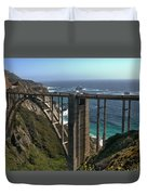 Bixby Creek Bridge 5 Duvet Cover