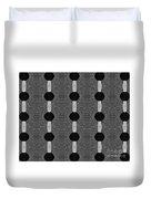 Black And White 2 Duvet Cover