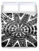 Black And White Abstracts Duvet Cover
