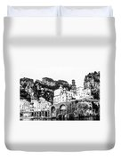Black And White Amalfi Duvet Cover