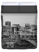 Black And White Baltimore Duvet Cover