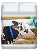 Black And White Cow 2 Duvet Cover