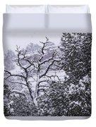 Black And White Day Duvet Cover