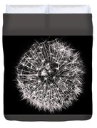 Black And White Dreams Duvet Cover