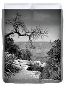 Black And White Grand Canyon 2 Duvet Cover
