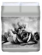Black And White Is Beautiful Duvet Cover