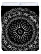 Black And White Mandala No. 2 Duvet Cover