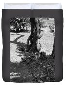 Black And White Roots Duvet Cover